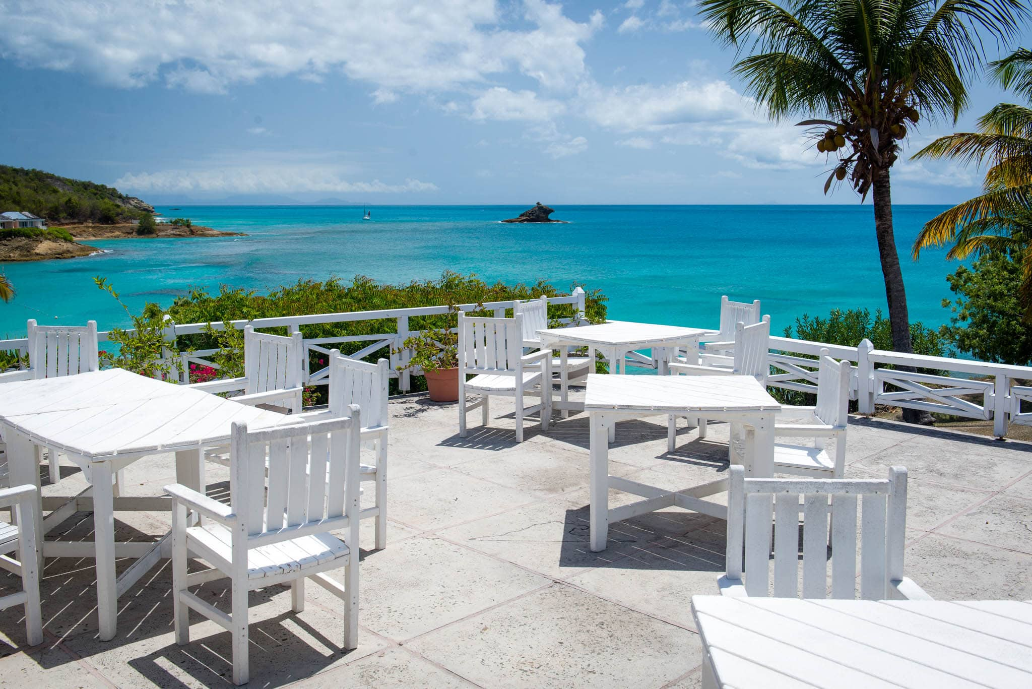 The resort has two restaurants on property and is happy to shuttle you to other nearby resorts for additional options.
