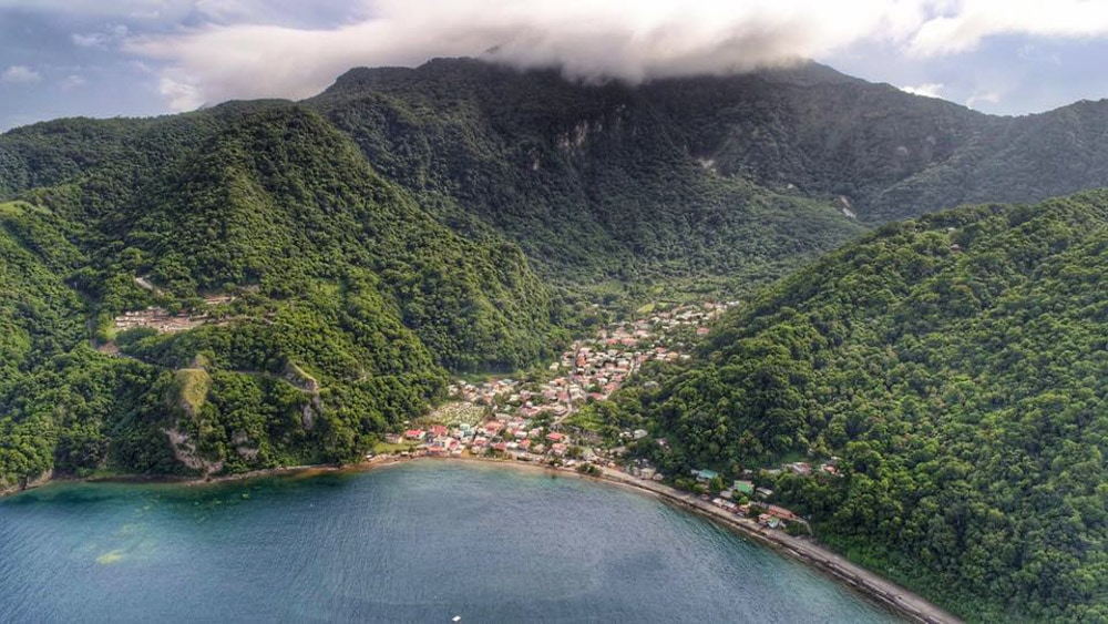Soufriere, Dominica Before The Storm