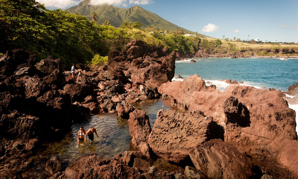 Natural Pools at Black Rocks, St. Kitts: Uncommon Attraction