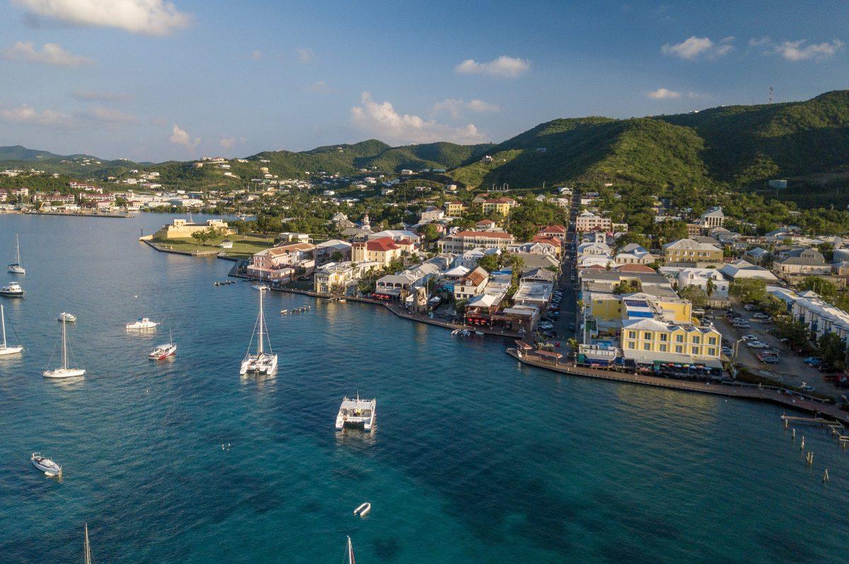 High above Christiansted, St. Croix | Patrick Bennett