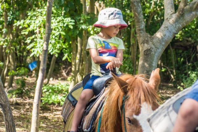 St. Croix - Kids Horseback Riding Cowboy Steve