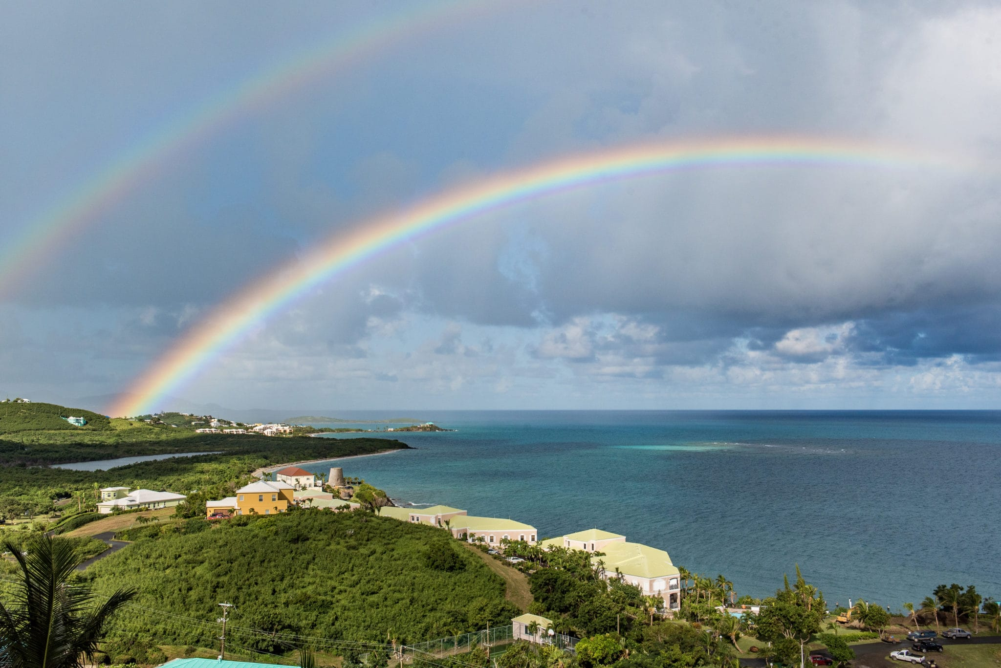 After Maria, Rainbows Reflect a Rosy Future for St. Croix