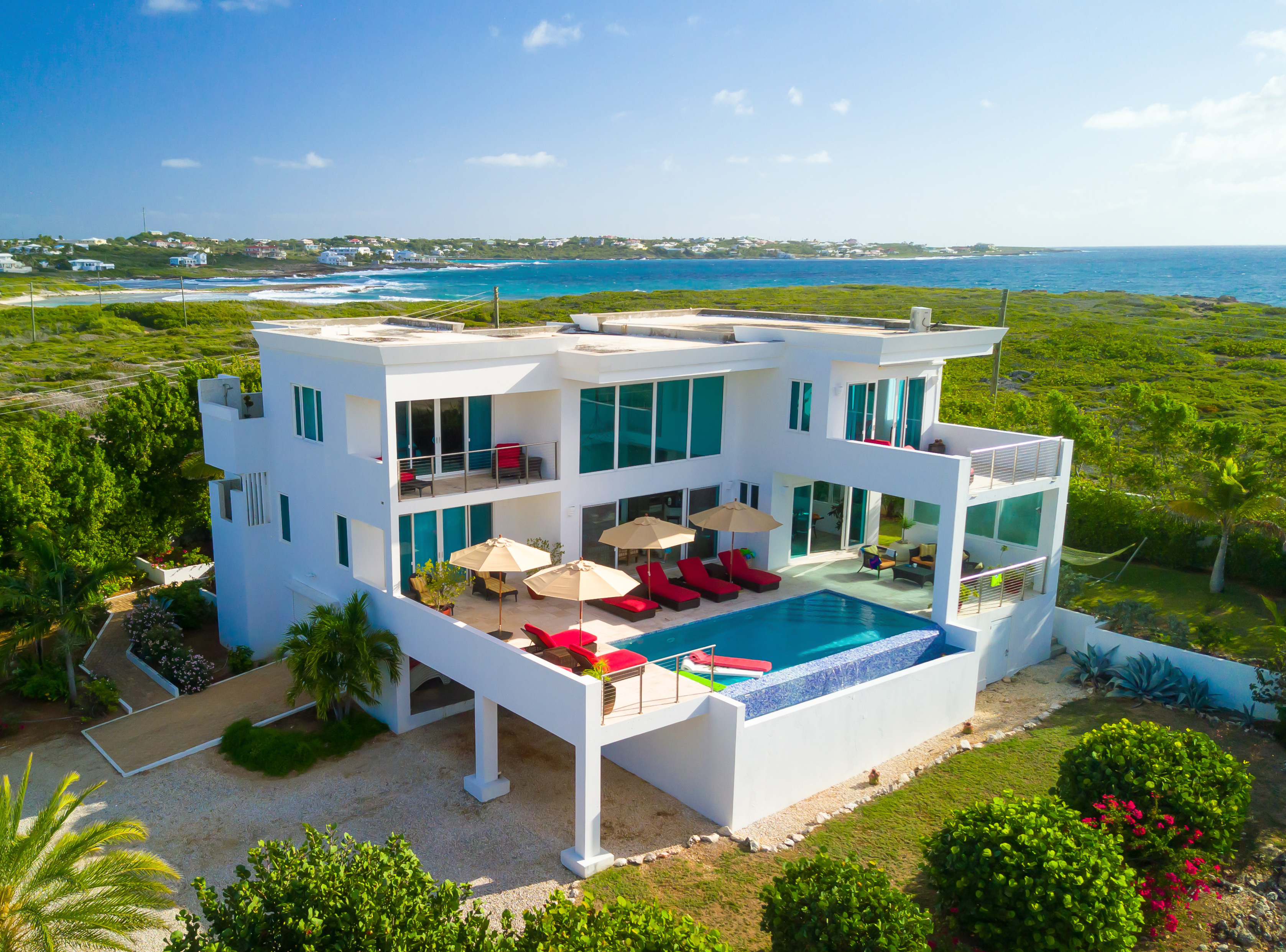 Set against some of Anguilla's secluded shores, you get all this luxury to yourself.