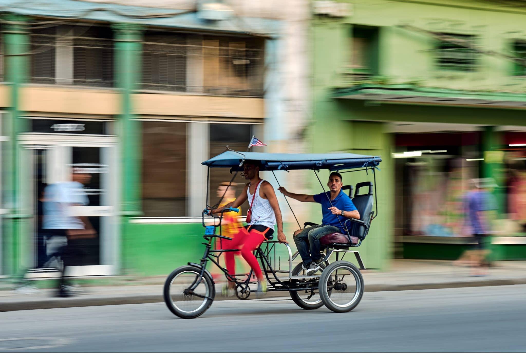 Bounding About Havana via Bicitaxi