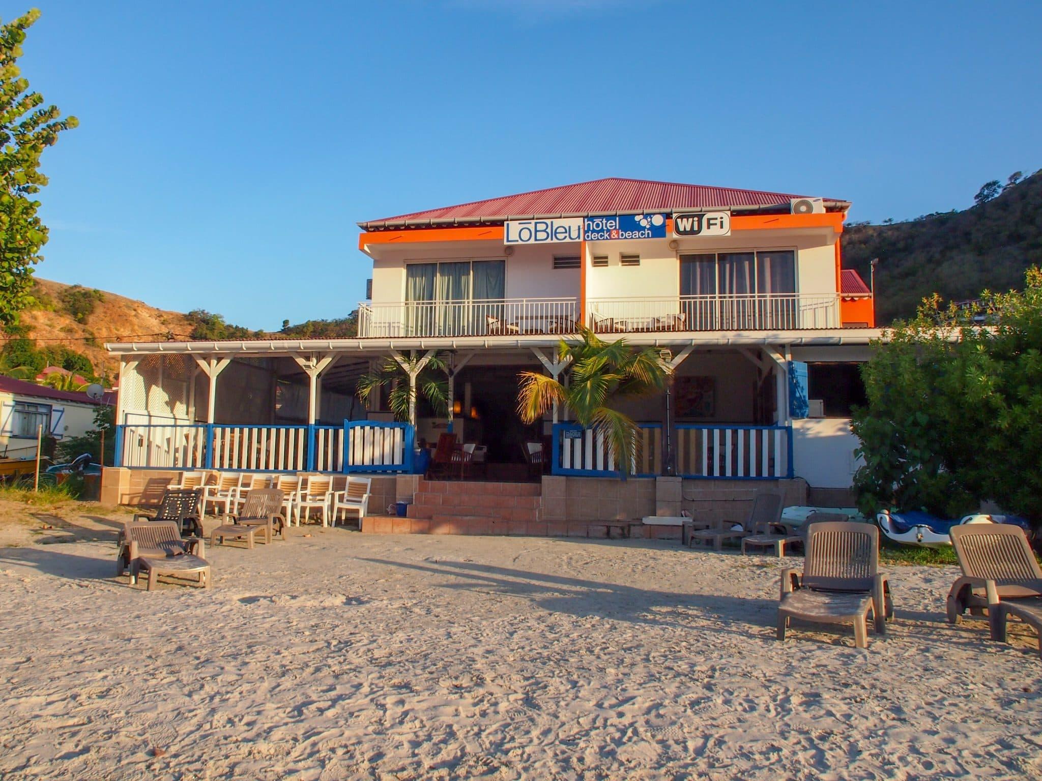 Checking Into Hotel LoBleu in Terre-de-Haut, Guadeloupe