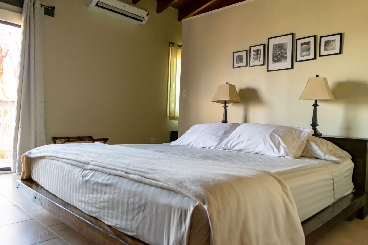 King Bed at Two Sandals Bed and Breakfast, St. Thomas | SBPR
