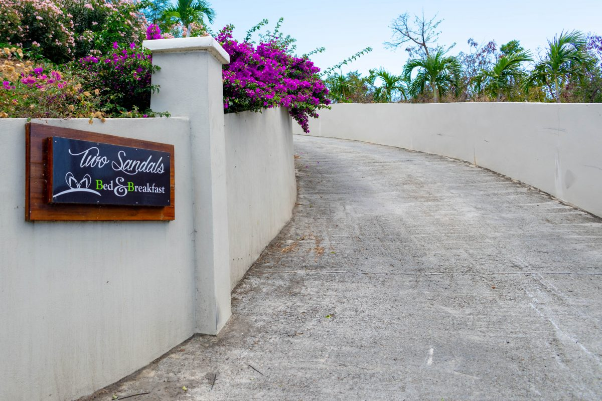 Right this way to Two Sandals B&B, St. Thomas | SBPR