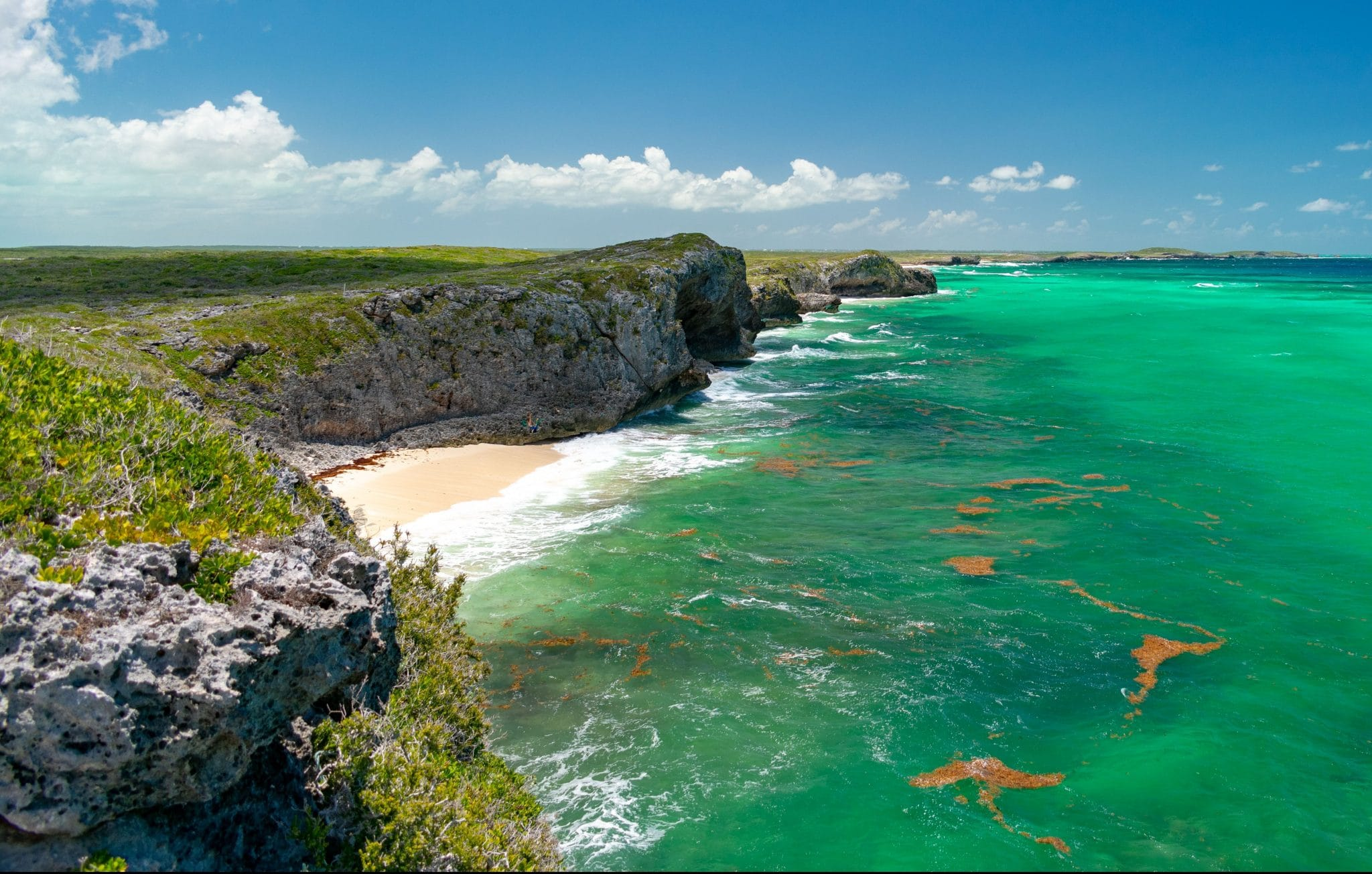 The Cliffs of Mudjin Harbour, Middle Caicos
