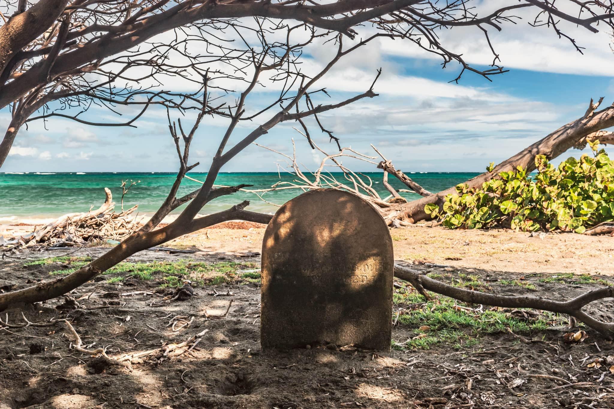 The Spookiest Beach in the Caribbean