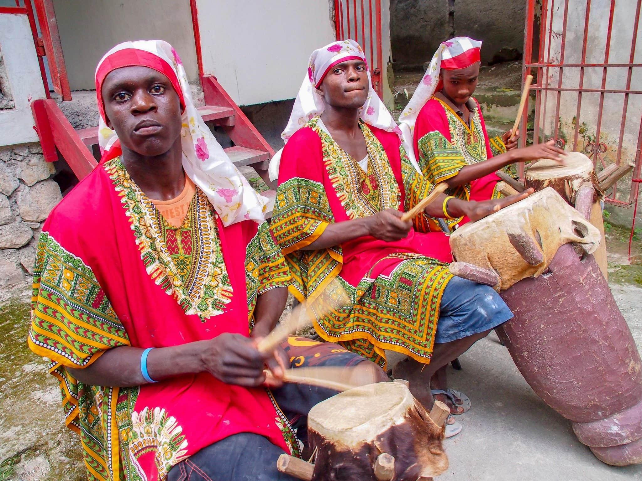 African Drumbeats in Haitian Music