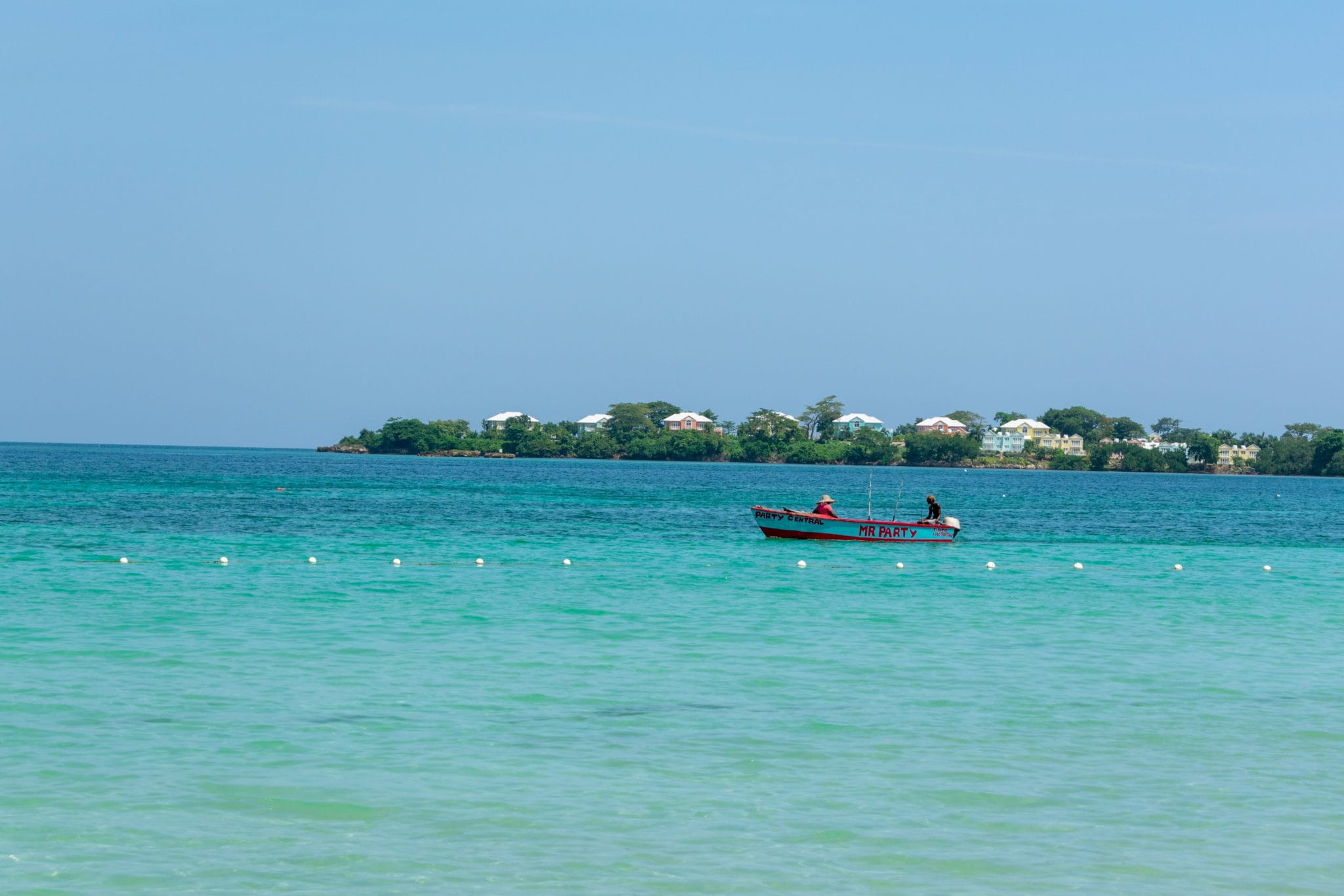 Party Central In Negril, Jamaica