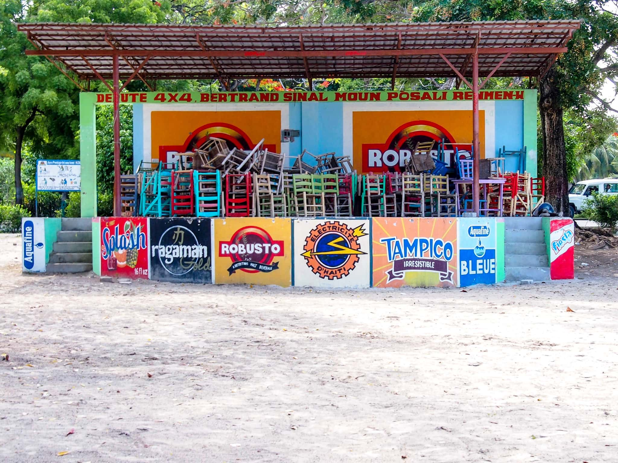 Party Place in Port-Salut, Haiti