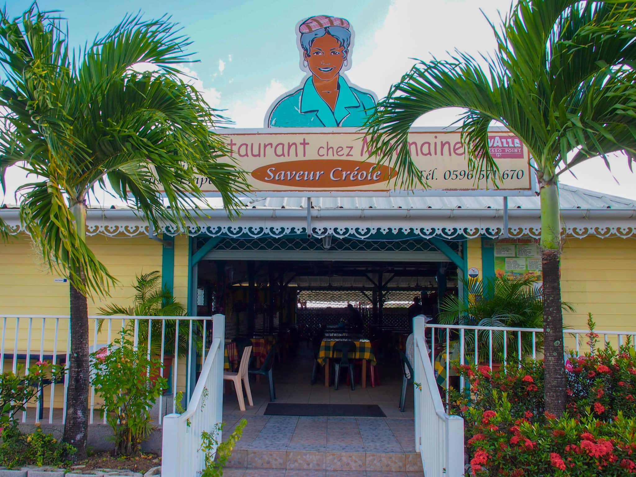 Airport Food That Will Set Your Heart Soaring at Chez Maimaine, Martinique