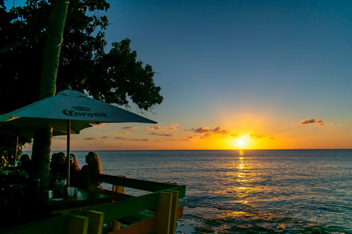 Of course, I made time for another Sunday Funday sunset at Rainbow Beach | SBPR