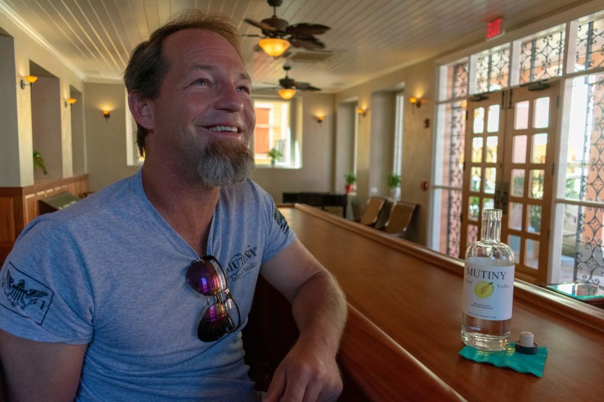 Todd Manley, the man behind Mutiny Vodka and several of St. Croix's hottest new restaurants | SBPR