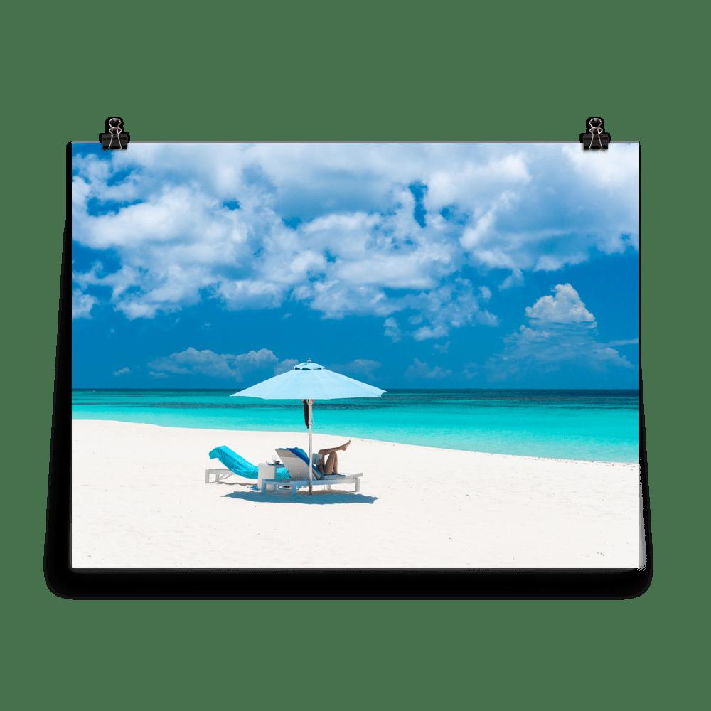 Anguilla Beach Day Print