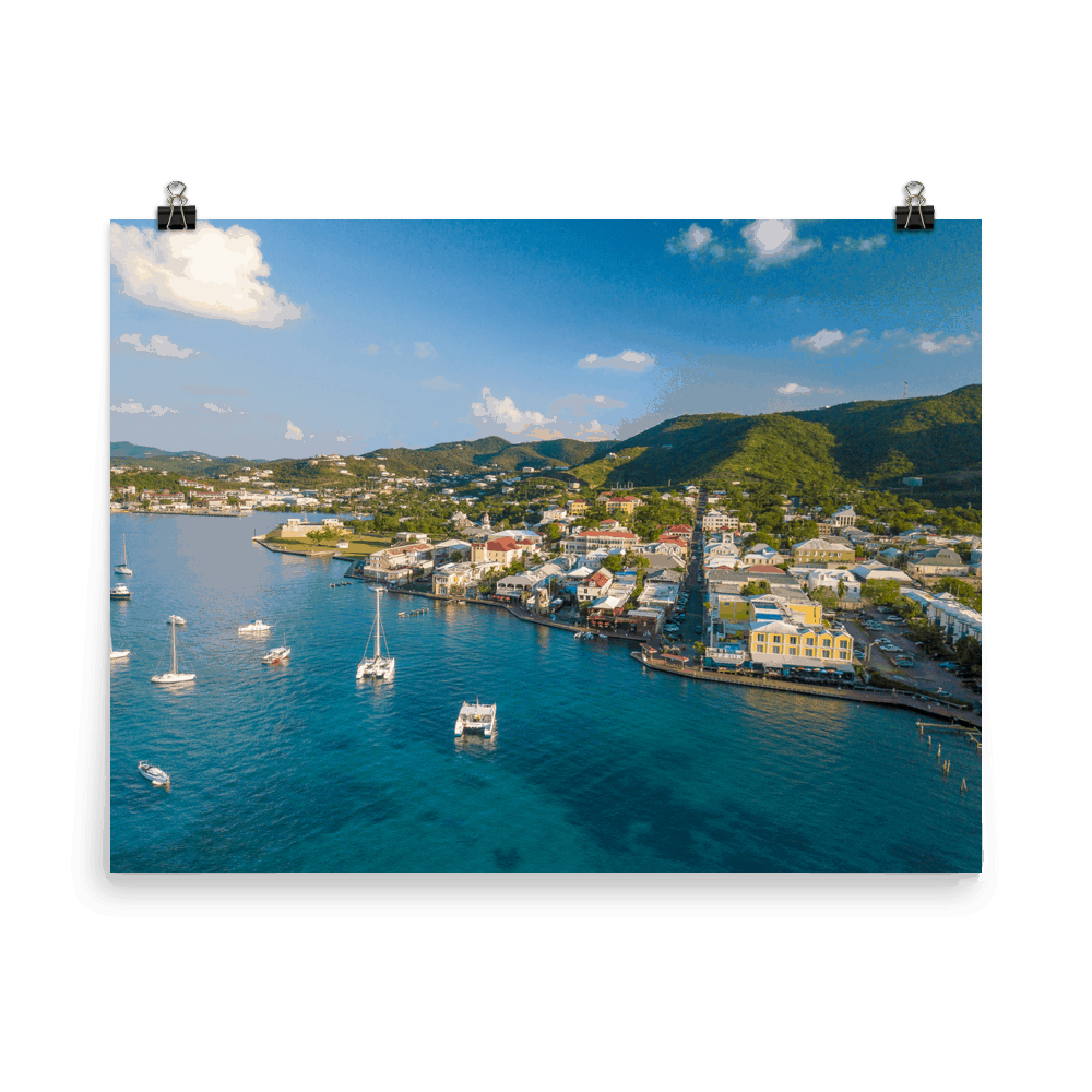 Christiansted, St. Croix Print