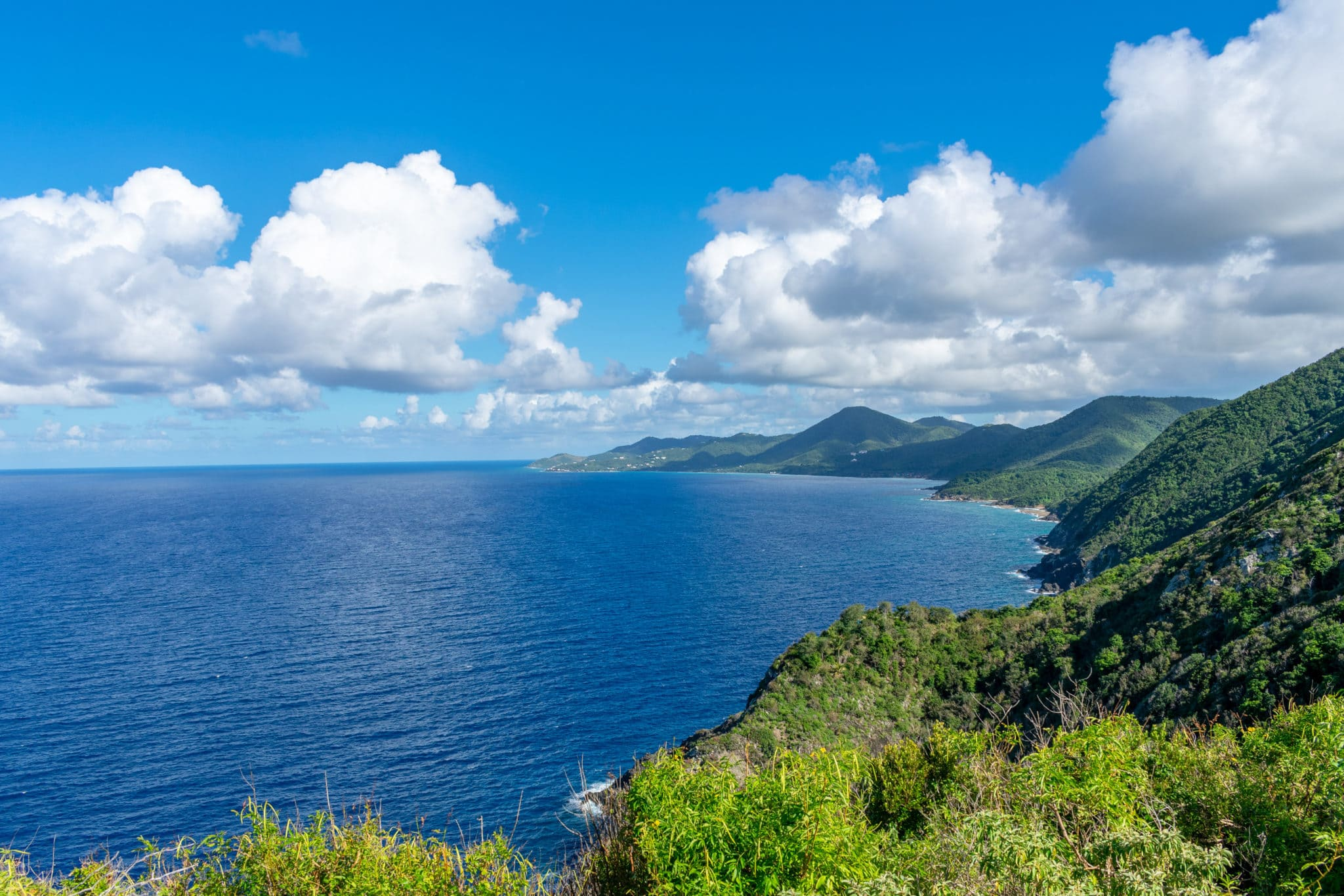 Looking East From Hams Bluff Lighthouse, St. Croix