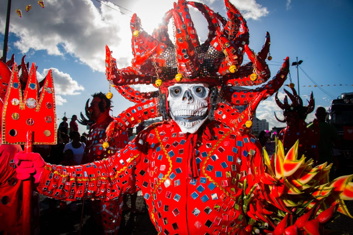Will this be me next week at Martinique Carnival? | Credit: Henri Salomon