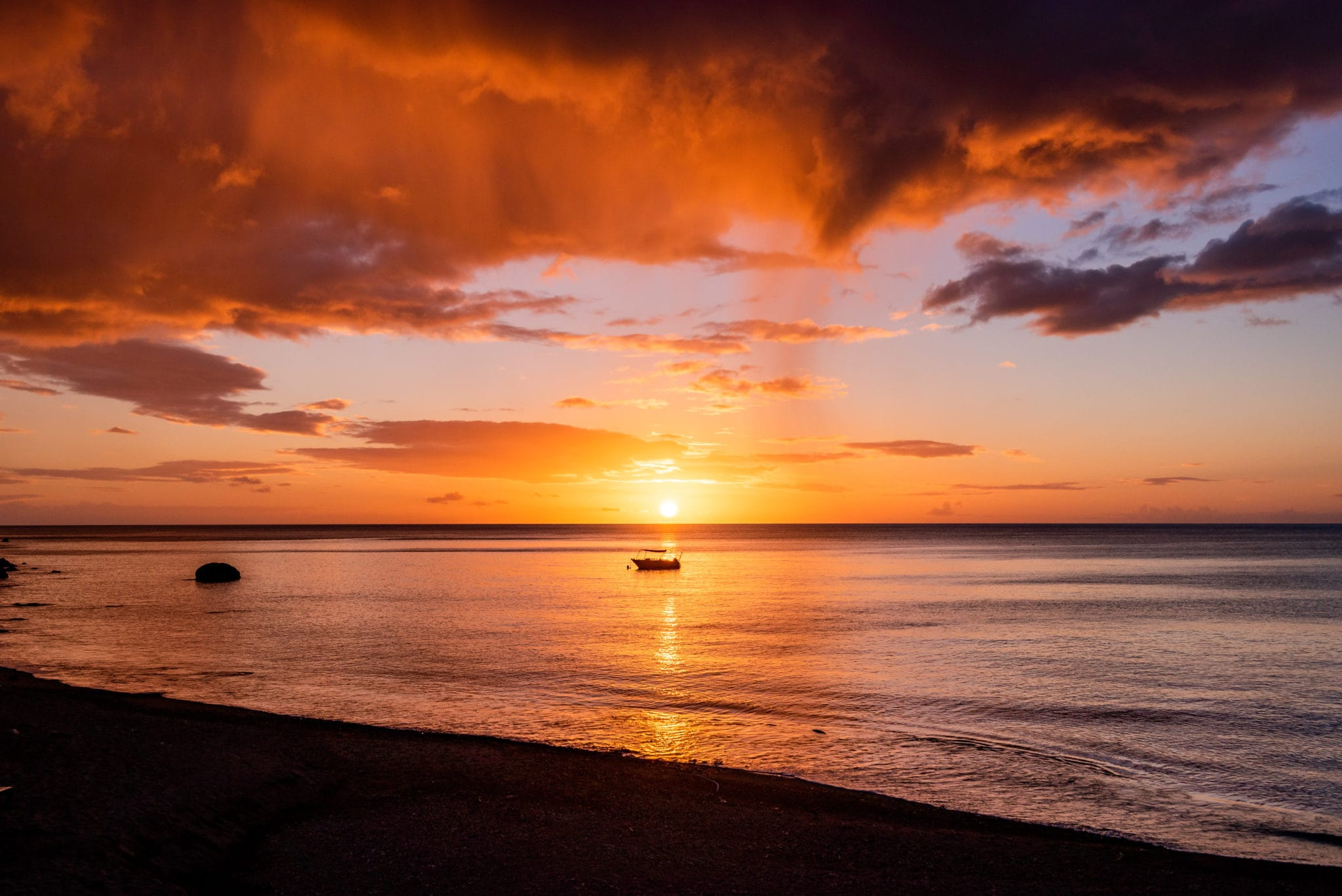 Sunset Bay Dominica Delivers Sunsets That Don't Disappoint