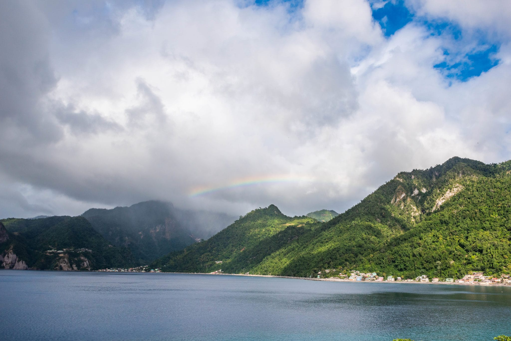 Dominica's Rainbows Have a Green Pot of Gold at Their End
