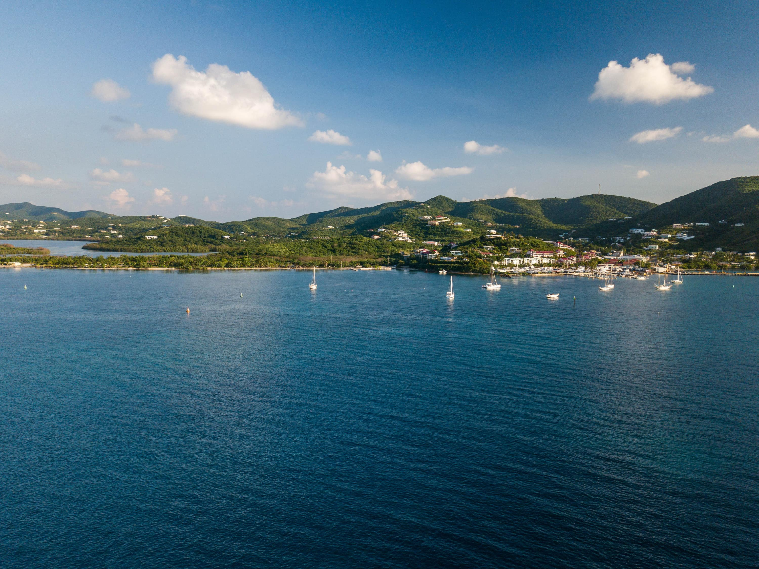 Photo of the Day: Gallows Bay, St. Croix By Seaplane | St. Croix, U.S. Virgin Islands