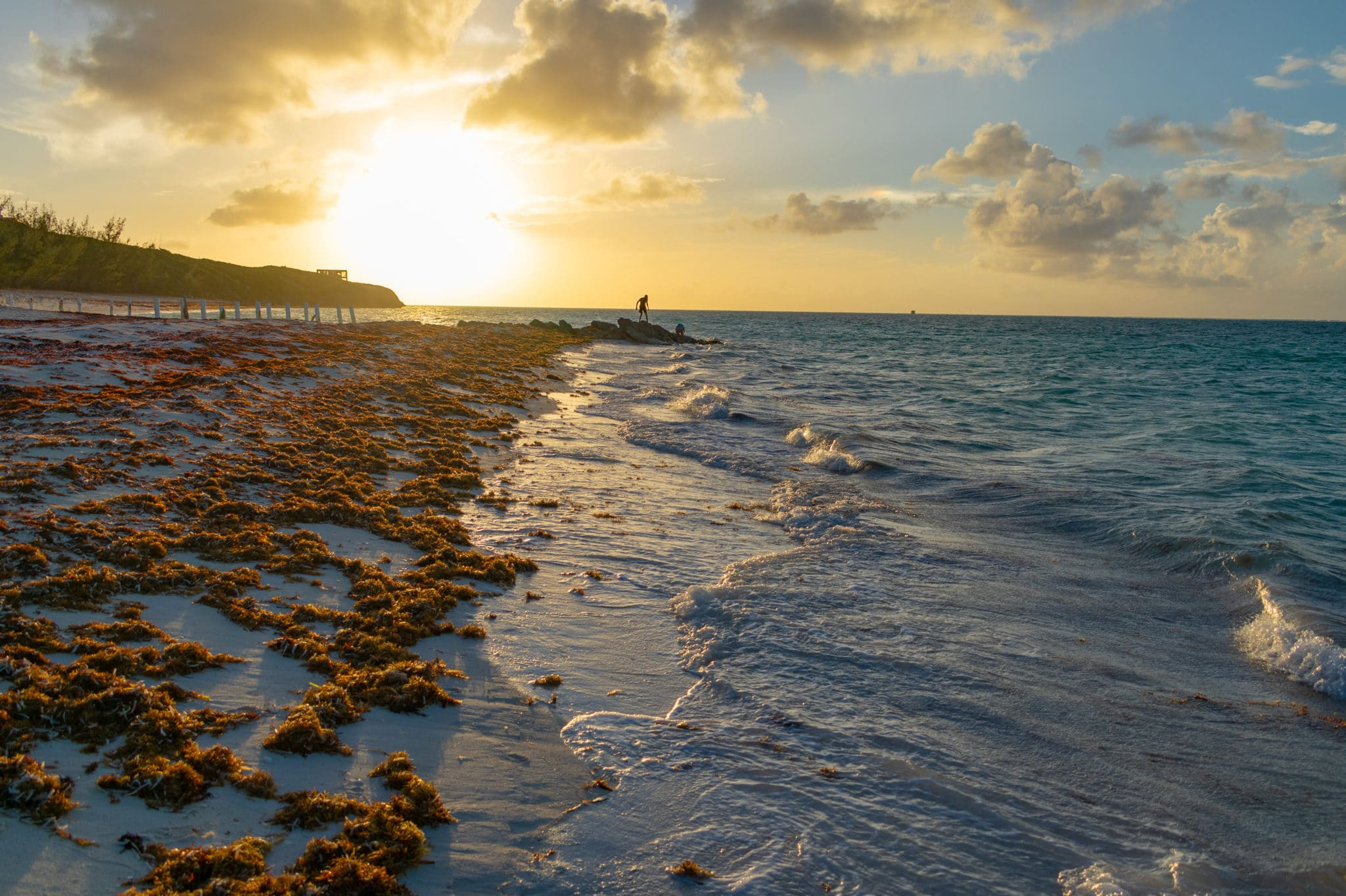 Whitby Beach Sunset, North Caicos