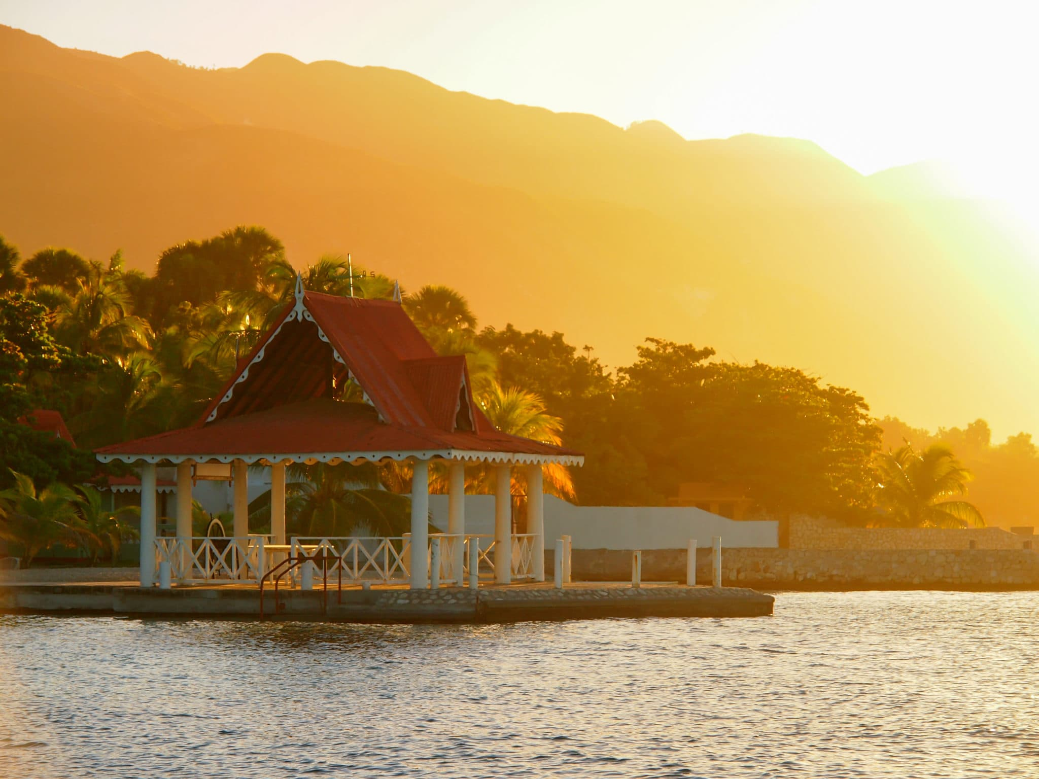 Sunrise Over Moulin Sur Mer, Haiti