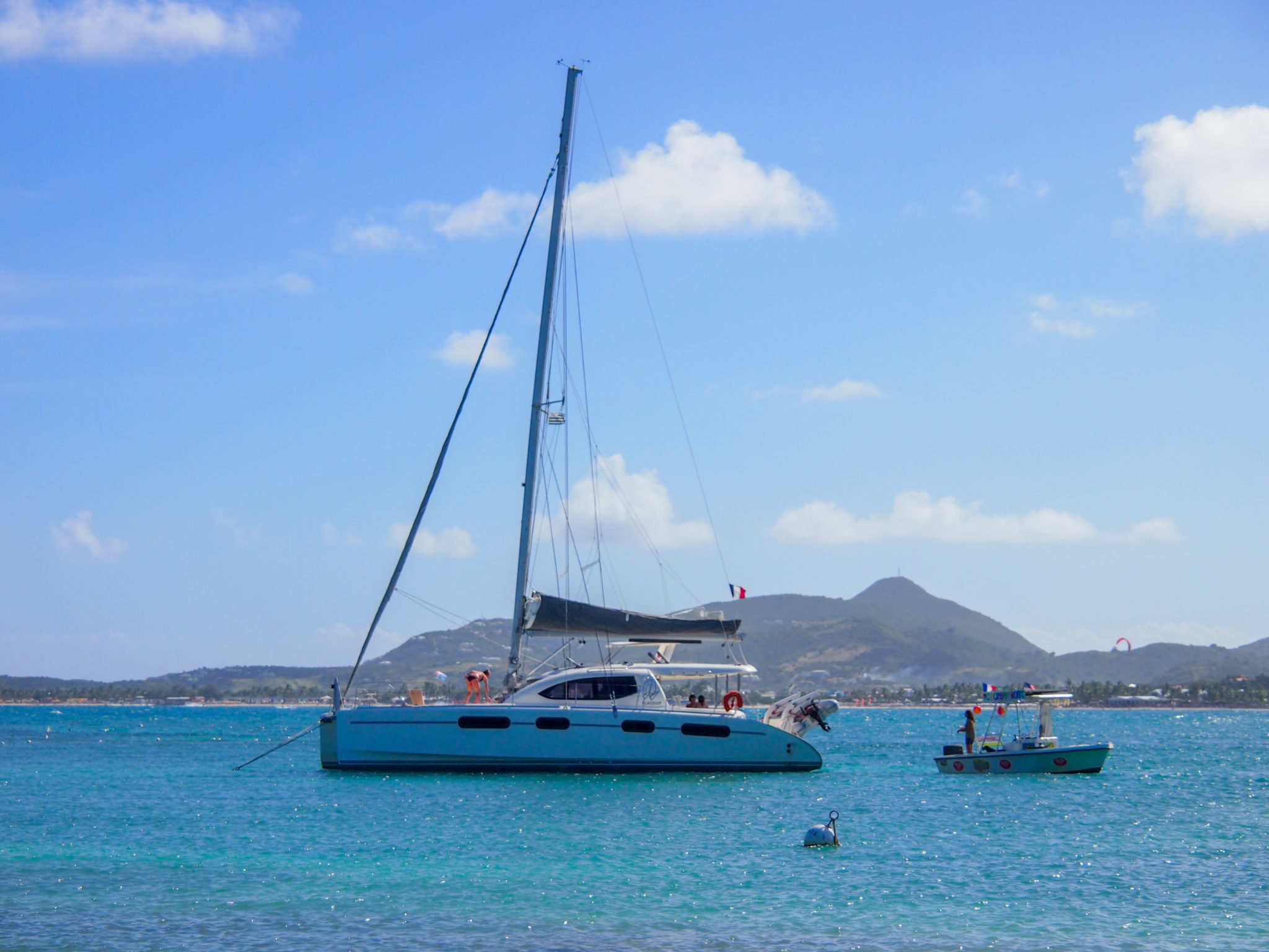 Lily's Ice Cream Boat Sails On in St. Martin