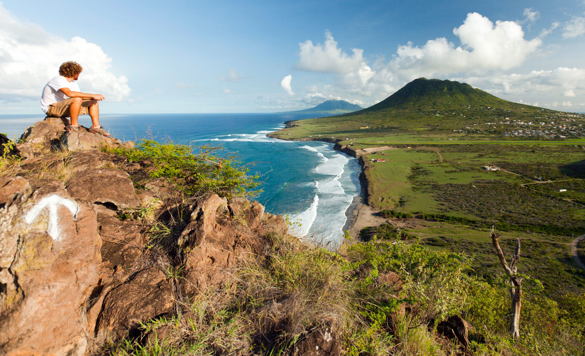 Boven National Park View of the Quill Volcano, St. Eustatius
