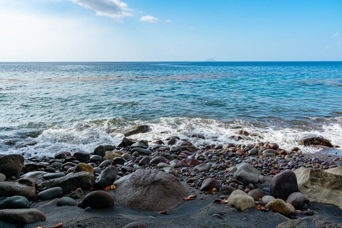 Beautiful Montserrat seascape