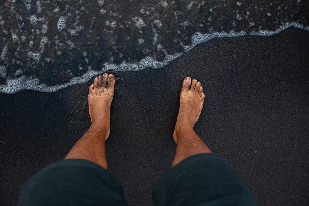 Coconut Black Sand Beach, Dominica