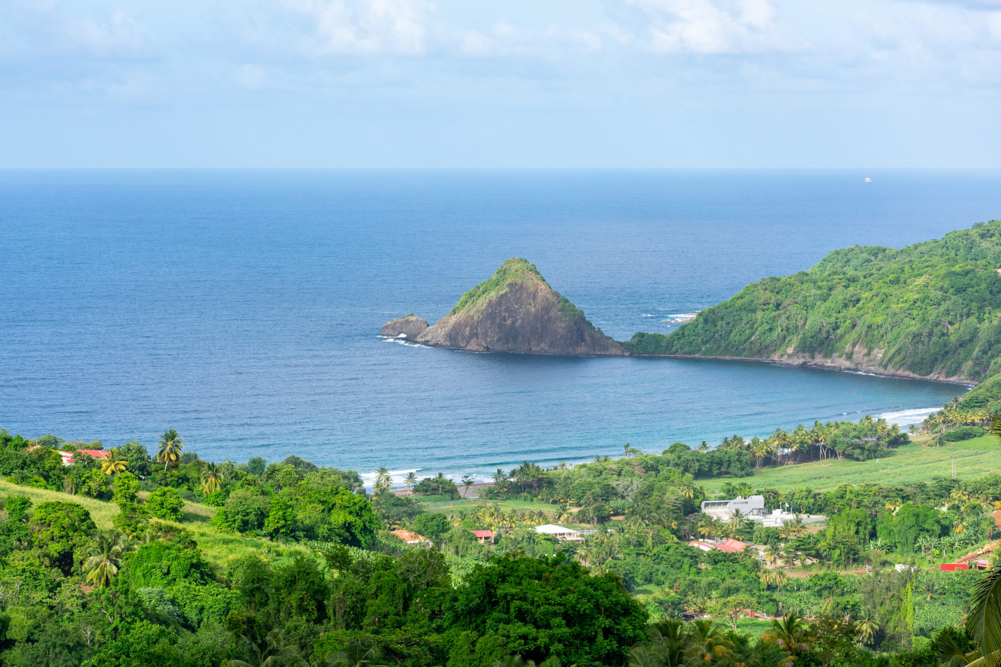 Martinique's Pain de Sucre (Sugarloaf Rock)