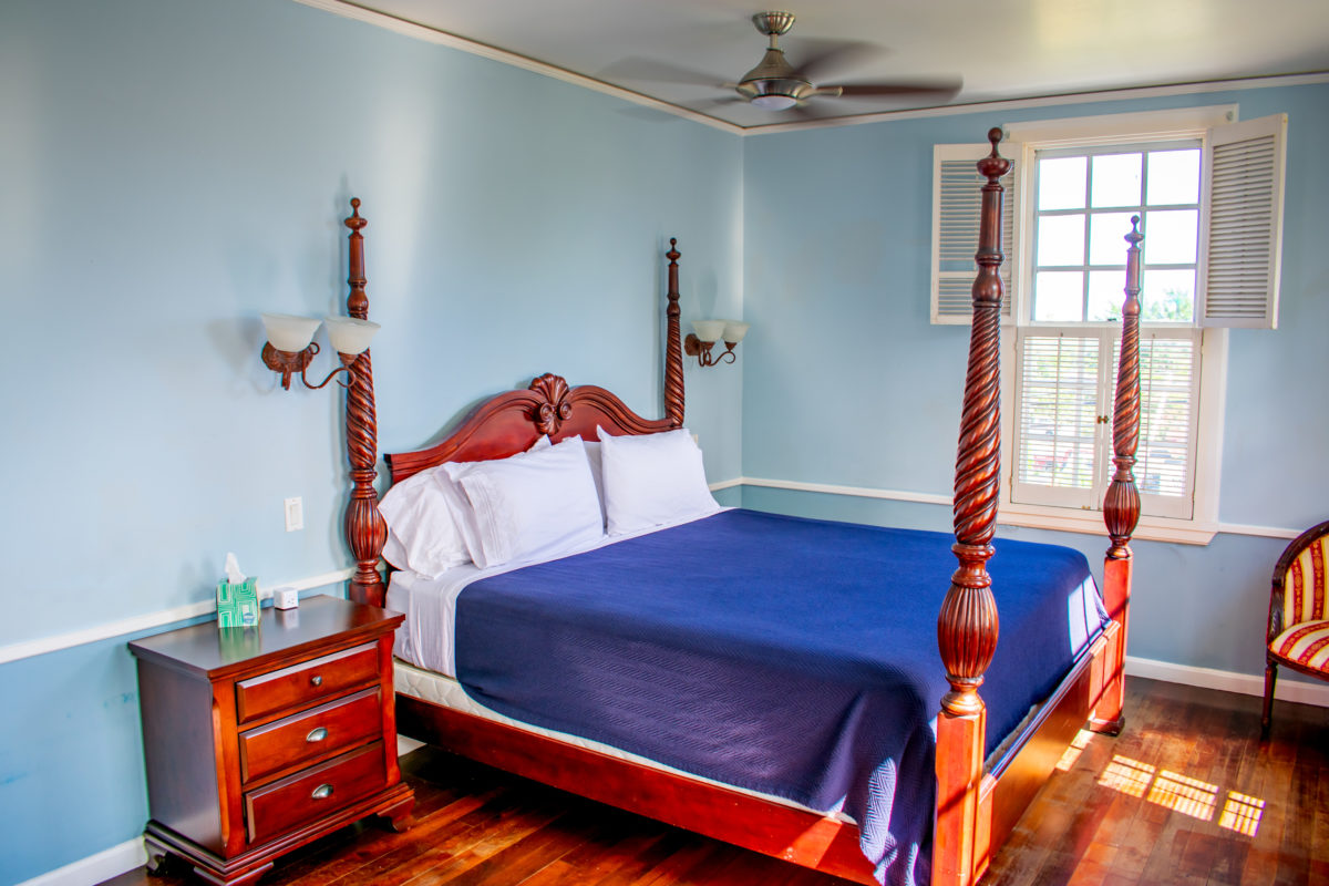 My Bed at Sugar Apple Bed & Breakfast, St. Croix