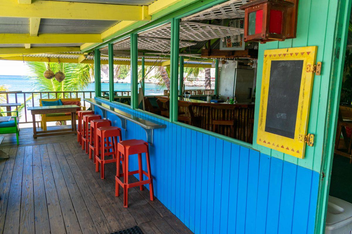 Inside Soca Cabana, Montserrat